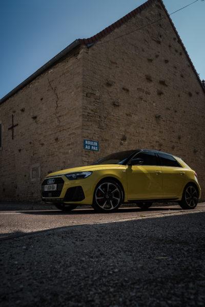 Audi A1 Sportback 3/4 avant