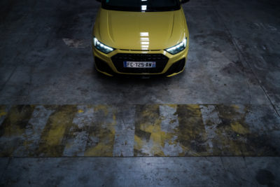 Audi A1 Sportback face
