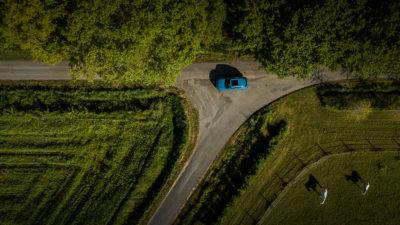 Audi e-tron drône